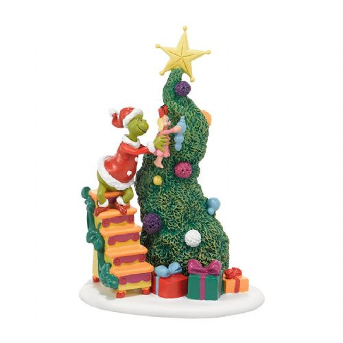 Department 56 It Takes Two, Grinch and Cindy Lou Who